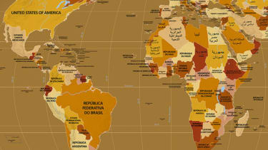 Endonym Map