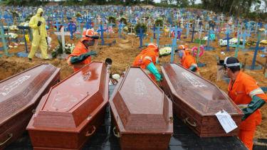 Mass graves in Brazil