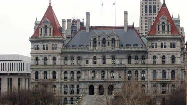 New York state capital.
