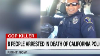 Arrests mount connection to death of California police officer
