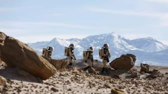 To prepare for Mars, scientists go through rigorous training.