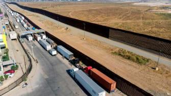 U.S. Mexico border crossing