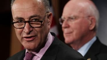 What does Schumer have against Facebook?