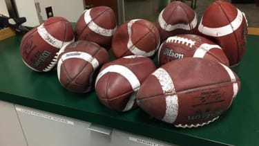 Canada is so cold right now that the footballs used in CFL practices won't stop popping