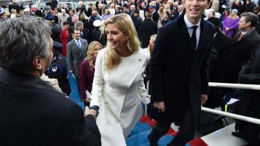 Ivanka Trump and Jared Kushner.