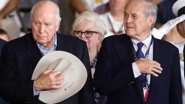 Dick Cheney and Donald Rumsfeld