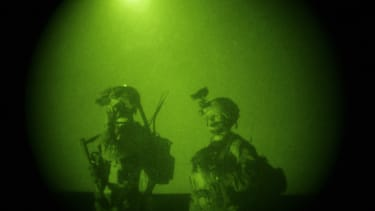 U.S. Special Forces in Afghanistan, 2009.