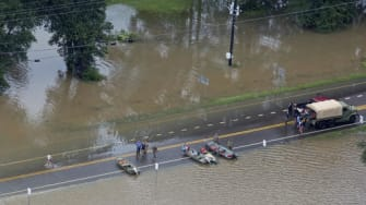 Severe flooding in Louisiana, August 2016