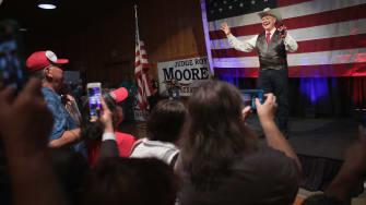 Roy Moore in Alabama