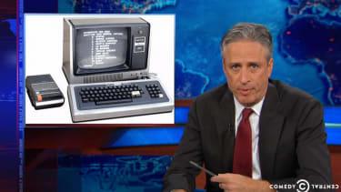 Jon Stewart demands to know why Veterans Affairs is still using 1985 technology