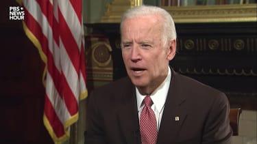 """Joe Biden tells Donald Trump to """"grow up"""""""