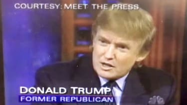 Donald Trump on Meet the Press in 1999