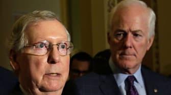 Senate Majority Leader Mitch McConnell discusses 9/11 lawsuit bill