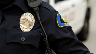 A transgender police officer couldn't get into an LGBTQ even that she organized.