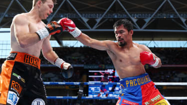 Australian boxer Jeff Horn won the WBO world welterweight title against Filipino champion Manny Pacquiao