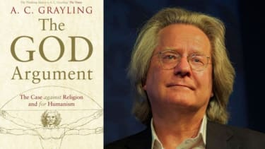 British philosopher AC Grayling and his forthcoming book.