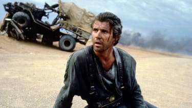 Mel Gibson in the original Mad Max.