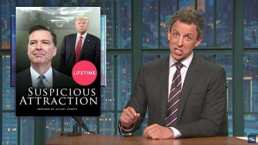 Seth Meyers previews Comey testimony