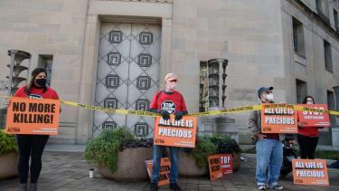 Death penalty opponents
