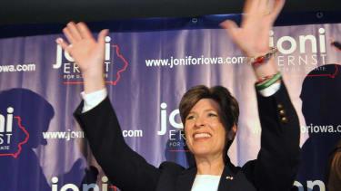 Republican Joni Ernst takes commanding lead in Iowa Senate race