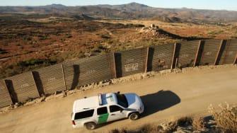 Border patrol on the U.S.-Mexico border.