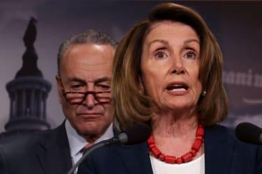 Nancy Pelosi and Chuck Schumer.