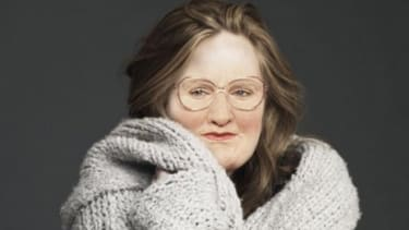 Adele's body + Mrs. Doubtfire's face