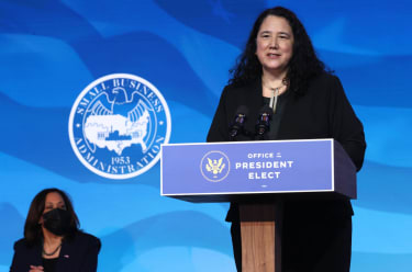 Small Business Administration nominee Isabel Guzman