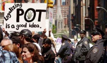 New York legalizes marijuana