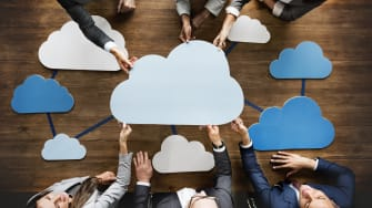 Cloud computing in business.