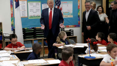 How will Donald Trump handle the nation's education system?