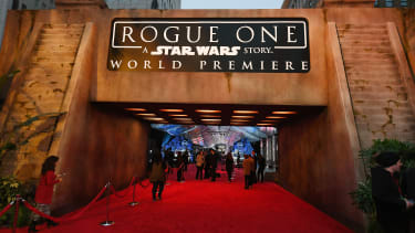 The premier of Rogue One in California