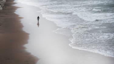 Beach in Ireland.