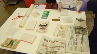 The contents of a Nazi-era time capsule.