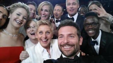 Ellen DeGeneres declares star-studded Oscar selfie the 'best photo ever'