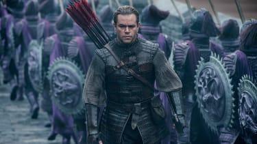 The Great Wall stars Matt Damon.