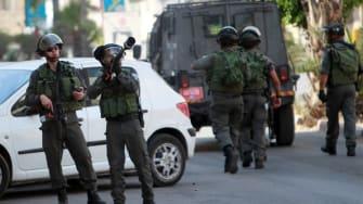 Israeli officers