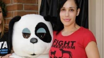 Octomom's PETA partnership might save her home.