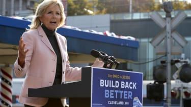 First lady Jill Biden.