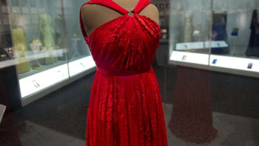 A dress Michelle Obama wore to an inaugural ball in 2013.