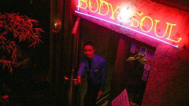 Jazz and blues club, Tokyo.