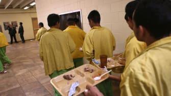 ICE detention center.