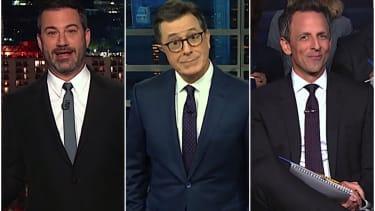 Stephen Colbert on Trump claiming nationalism