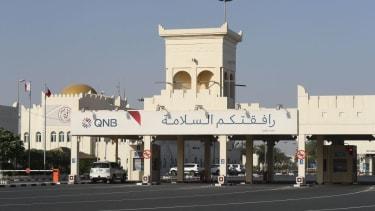 The Saudi-Qatar border