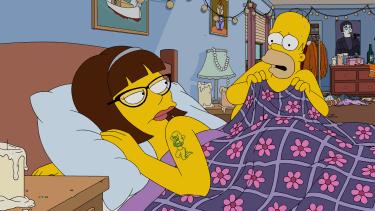 Season 27 premier episode of The Simpsons.
