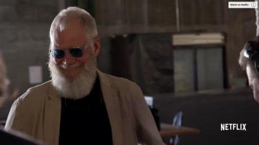 David Letterman's new show.