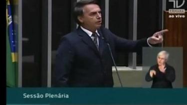 Brazilian congressman tells female colleague she's 'not worthy' of sexual assault