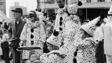 Clowns mardi gras
