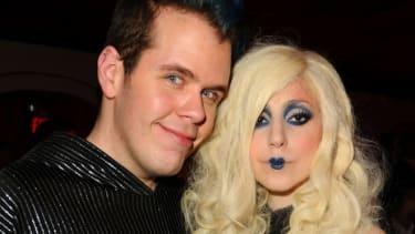 Perez Hilton and Lady Gaga, 2009.