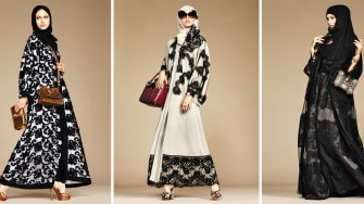 Fashion inspired by religious garb ignites a controversy.